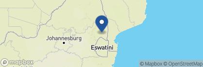 Map of Berg-en-Dal Restcamp, South Africa