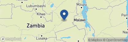 Map of Zungulila Bushcamp, Zambia