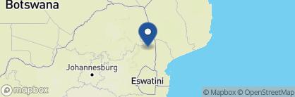 Map of Arathusa Safari Lodge, South Africa