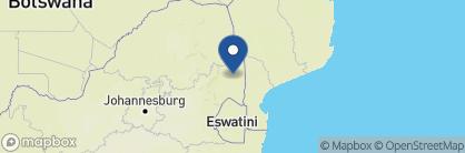 Map of Sabi Sabi Bush Lodge, South Africa