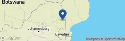 Map of Chitwa Chitwa Game Lodge, South Africa