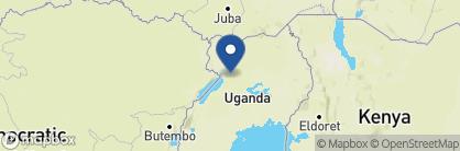 Map of Sambiya Lodge, Uganda