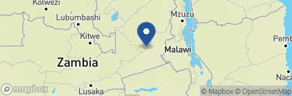 Map of Robin's House, Zambia