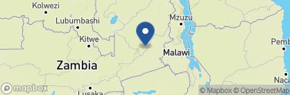 Map of Luwi Bushcamp, Zambia