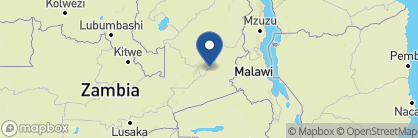 Map of Flatdogs Camp, Zambia