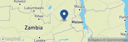 Map of Mfuwe Lodge, Zambia