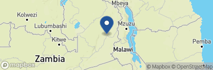Map of Mwaleshi Camp, Zambia
