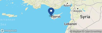 Map of Anassa Hotel, Cyprus