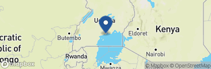 Map of The Boma Guesthouse, Uganda