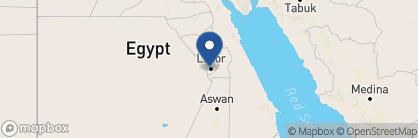 Map of Al Moudira, Egypt