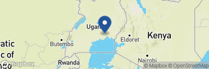 Map of Wildwaters Lodge, Uganda