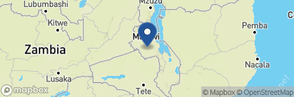 Map of Heuglin's Lodge, Malawi