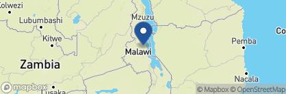 Map of Tongole Wilderness Lodge, Malawi