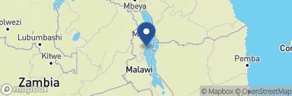 Map of Chintheche Inn, Malawi