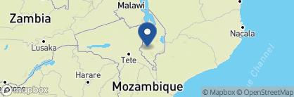 Map of Mkulumadzi, Malawi