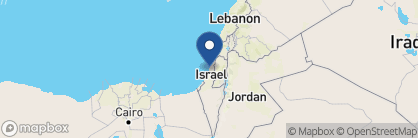 Map of The Jaffa Hotel, Israel