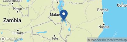 Map of Pumulani Lodge, Malawi