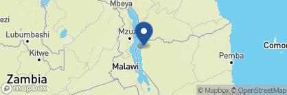 Map of Nkwichi Lodge, Malawi