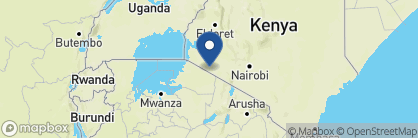 Map of Kicheche Bush Camp, Kenya
