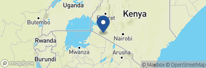 Map of Little Governors' Camp, Kenya