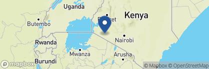Map of Serian Camp, Kenya