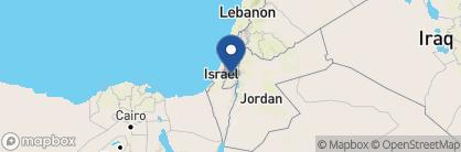 Map of Bezalel, Israel