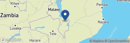Map of Mvuu Camp, Malawi