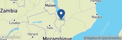 Map of Ku Chawe Inn, Malawi