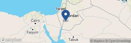 Map of The Petra Marriott, Jordan
