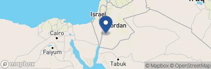 Map of Petra Guest House, Jordan