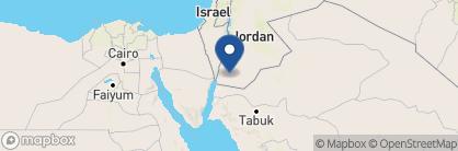 Map of Sun City Camp, Jordan