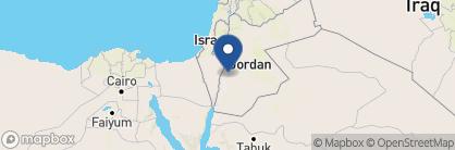 Map of Feynan Ecolodge, Jordan