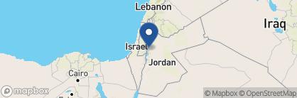Map of The Mövenpick Dead Sea Resort, Jordan