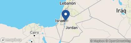 Map of Holiday Inn Dead Sea, Jordan