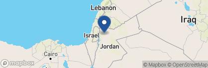 Map of Kempinski Ishtar Dead Sea, Jordan