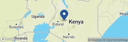 Map of Karisia Walking Safaris, Kenya