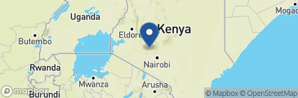 Map of Loldia House, Kenya