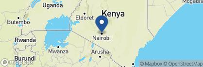 Map of The Norfolk Hotel, Kenya