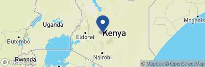 Map of Laikipia Wilderness Camp, Kenya