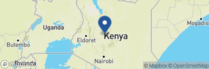 Map of Loisaba Starbeds, Kenya