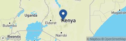 Map of The Sanctuary at Ol Lentille, Kenya