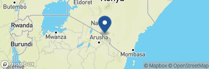 Map of Tortilis Tented Camp, Kenya
