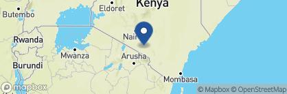 Map of Porini Amboseli Camp , Kenya