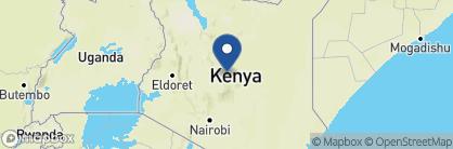 Map of Samburu Intrepids, Kenya