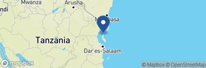 Map of Essque Zalu, Zanzibar Archipelago