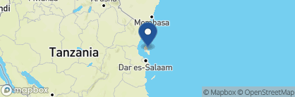 Map of Pongwe Beach Hotel, Zanzibar Archipelago