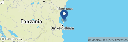 Map of Baraza Resort & Spa, Zanzibar Archipelago