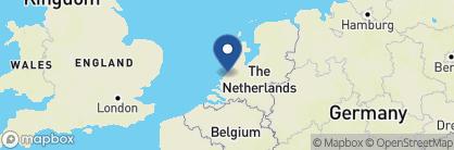 Map of Hotel des Indes, Netherlands