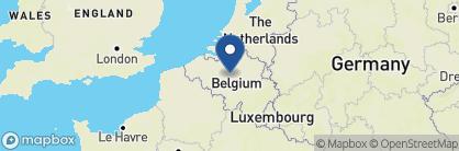 Map of Sofitel Brussels Europe, Belgium
