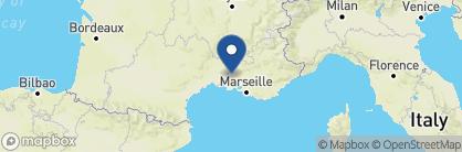 Map of Mas de la Clairière, France